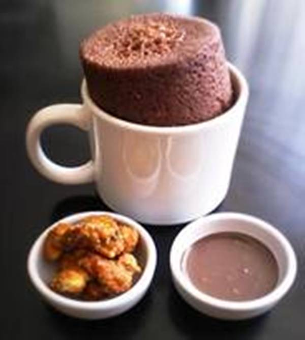 Receita de Bolo de Chocolate de Caneca