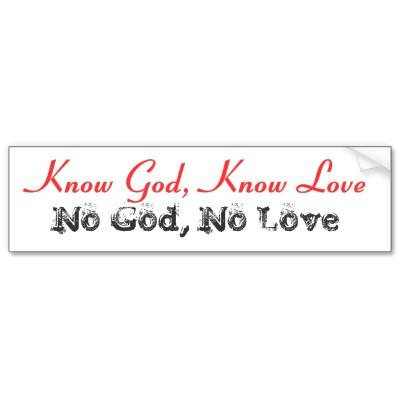 Know God, Know Life
