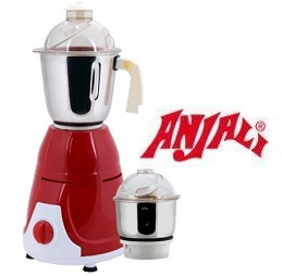 Anjali Mix Prime Duo Mixer Grinder – 600 W for Rs.999 @ Pepperfry