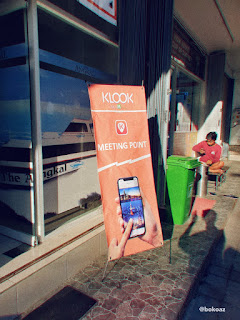 Check-in at Klook office @Sanur Harbor