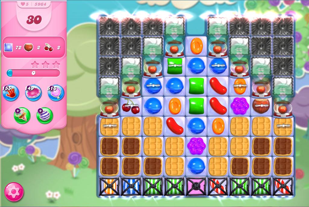 Candy Crush Saga level 5964
