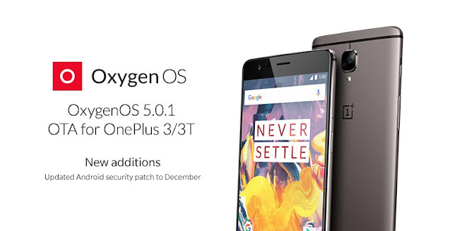 OnePlus 3, 3T Gets Oxygen OS