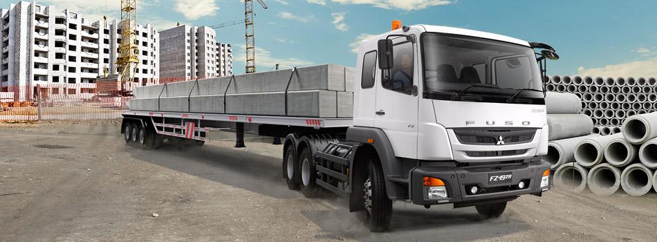 Fuso Tractor Head FZ 4928 6x4 280PS