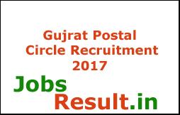 Gujrat Postal Circle Recruitment 2017