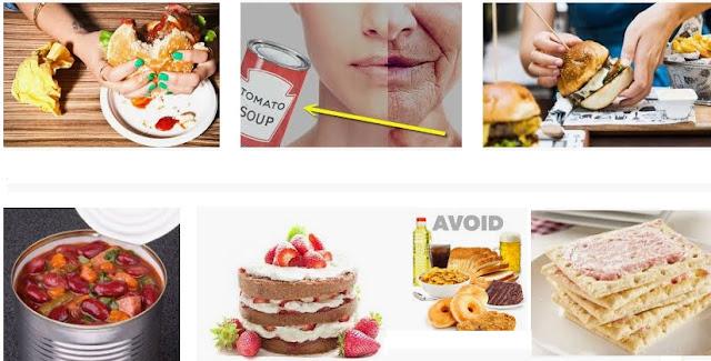 ushqime jo të shëndetshme