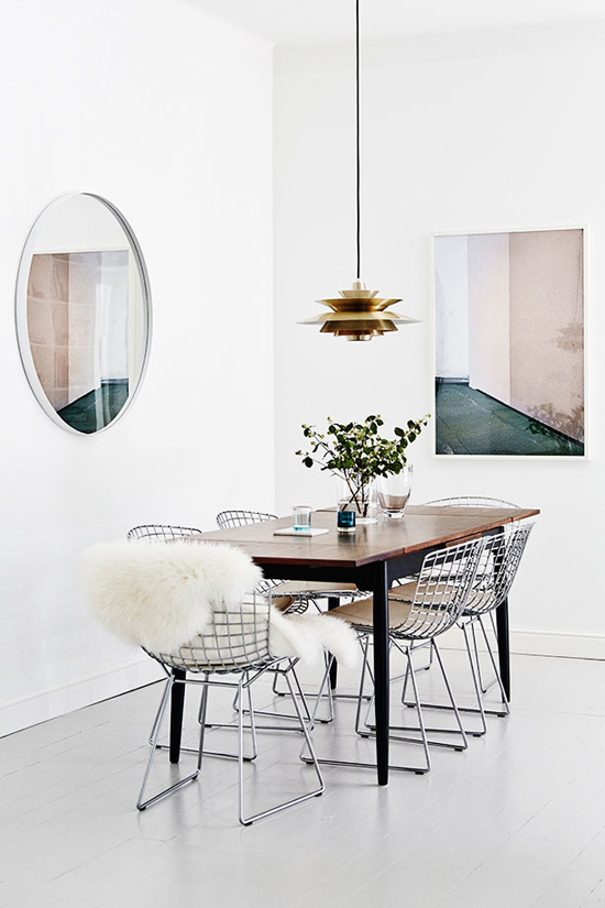 Bright scandinavian apartment of Joanna Laajisto and Mikko Ryhänen in Helsinki via Residence