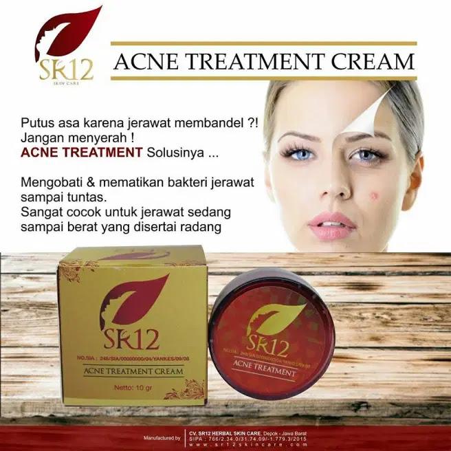 Acne Treatment Cream SR12 Harga dan Testimoni Skincare Herbal Tasik