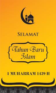 Contoh Template Ucapan Selamat Tahun Baru Islam