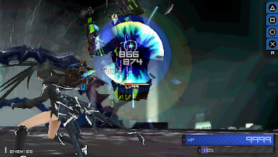 Black Rock Shooter The Game PPSSPP