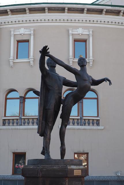 """Улан-Удэ, памятник """"Красавица Ангара"""""""