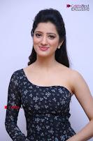 Telugu Actress Richa Panai Stills in One Shoulder Floral Long Dress at Rakshaka Bhatudu Movie Interview  0134.JPG
