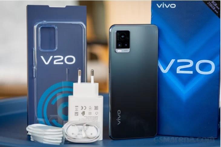 inboxing vivo v20