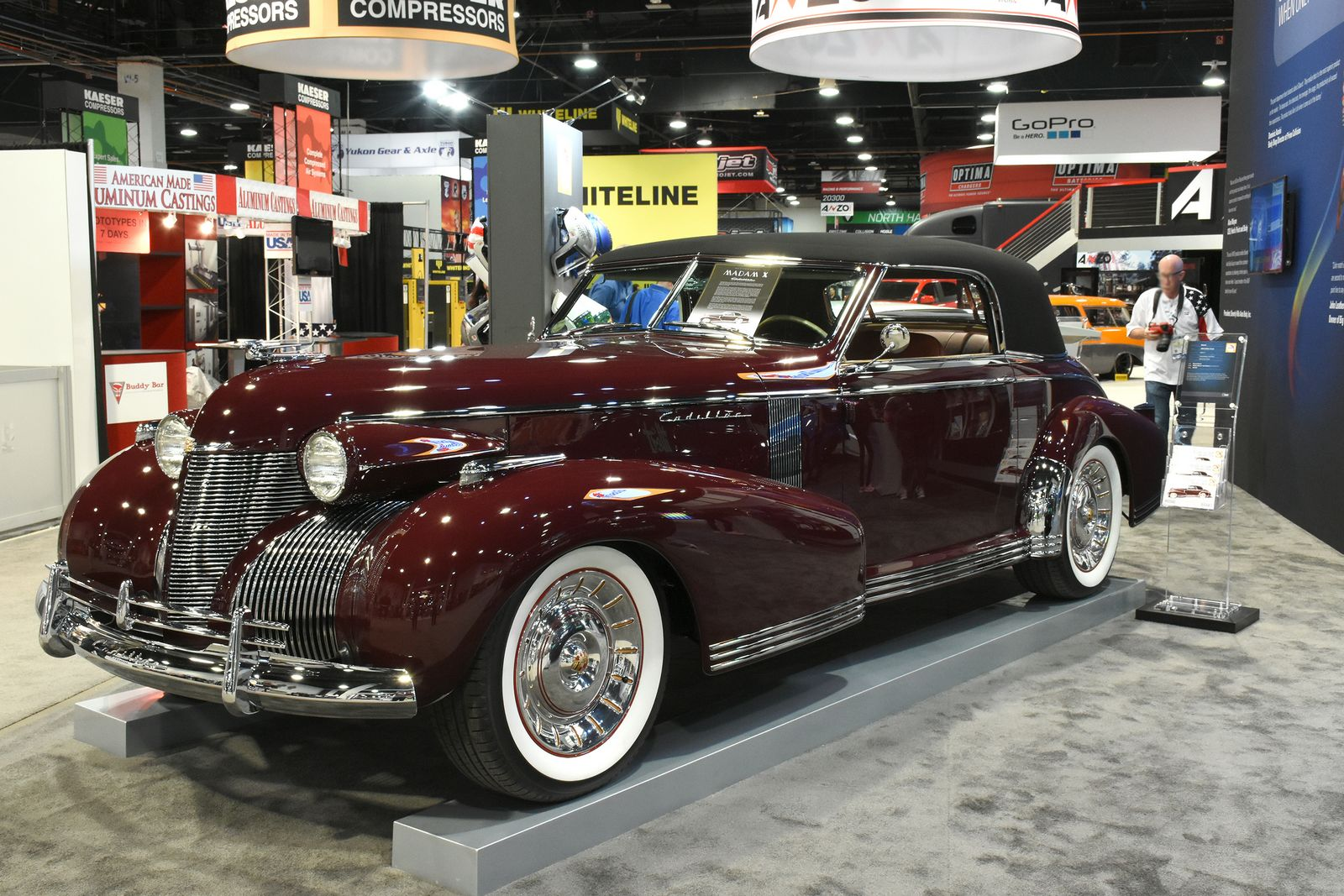 Chip Foose S Bold Madam X Cadillac Brings 1935 Style To