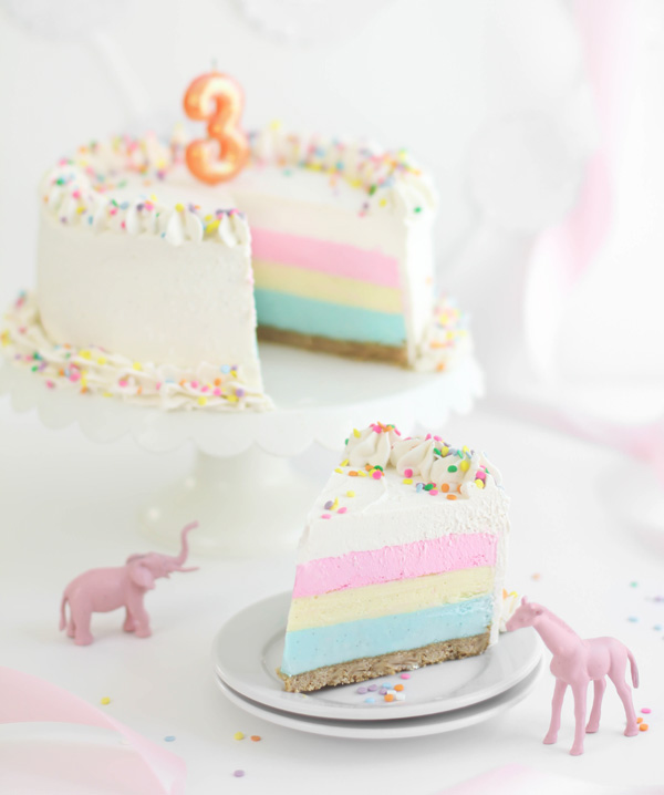 SprinkleBakes is Three Birthday Cheesecake Sprinkle Bakes