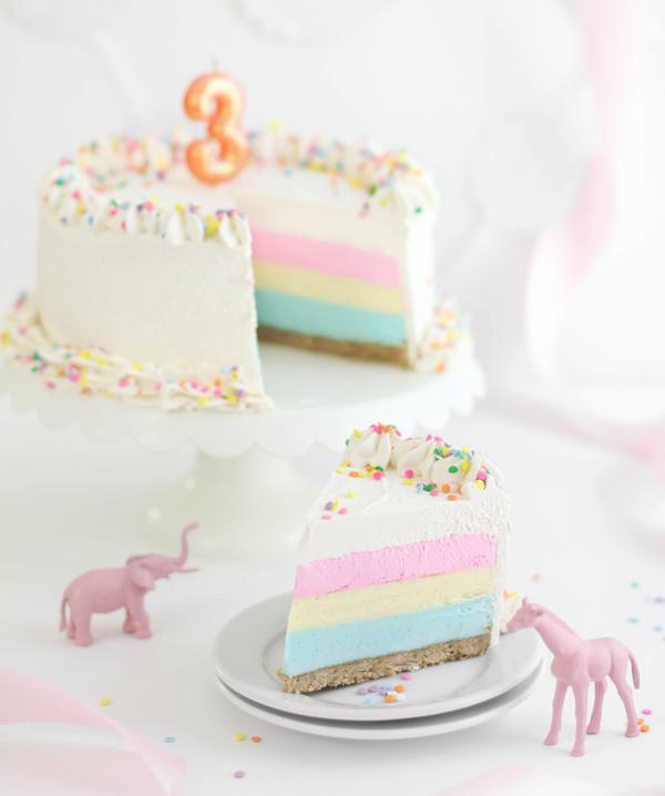 First Birthday Sprinklet Cake