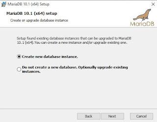 Installing MariaDB on Windows Session 3