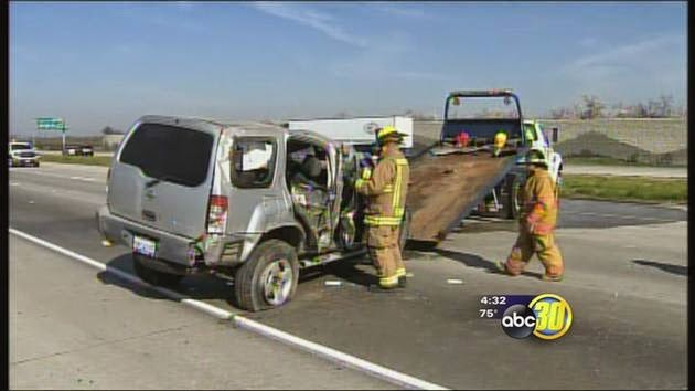 merced county hit and run vehicle accident highway 99 north two killed singh