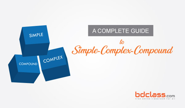 Rules of Simple Complex Compound Bangla