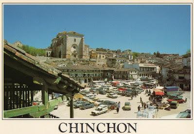 postal, Chinchón