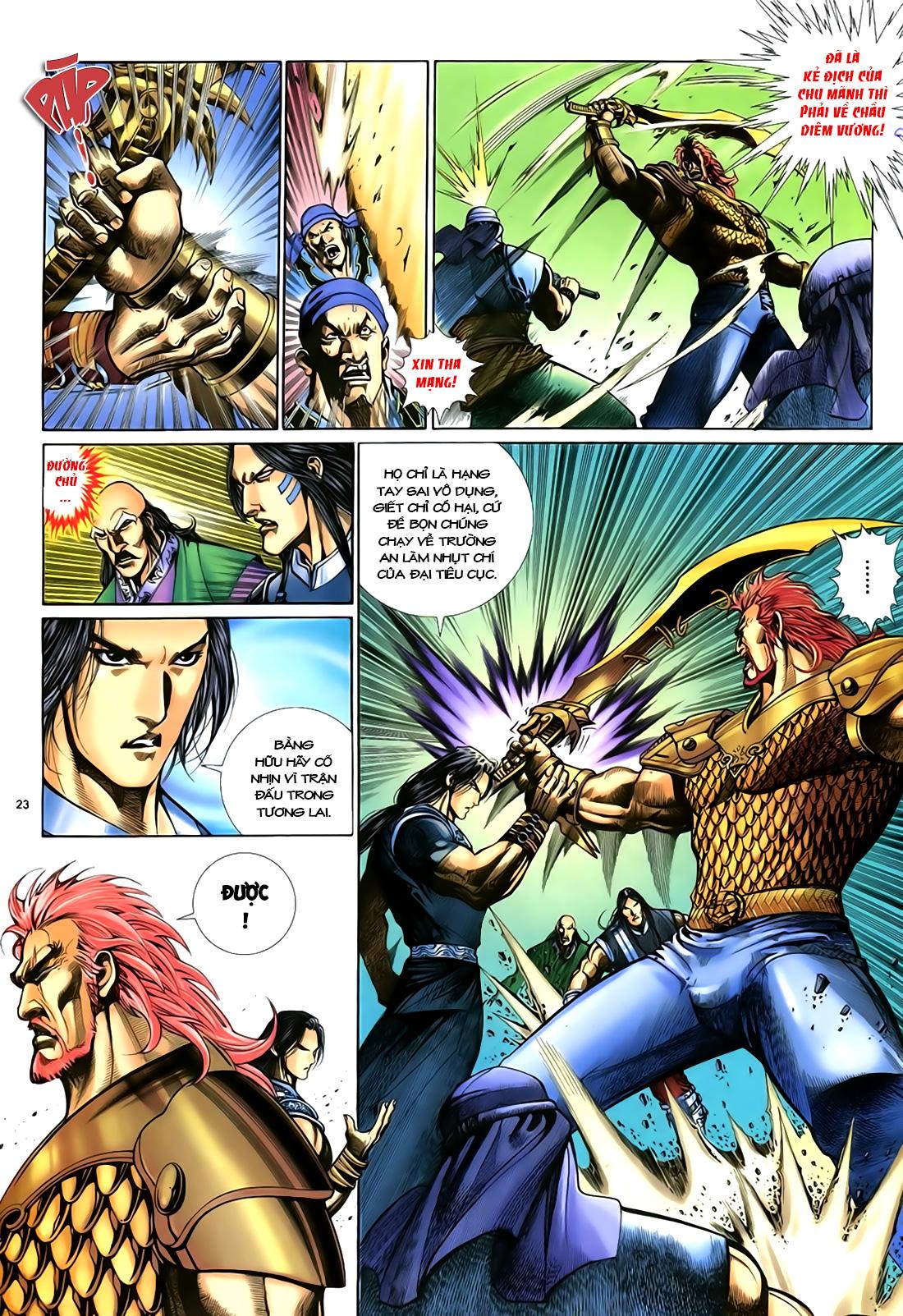 Anh hùng vô lệ Chap 18 trang 24