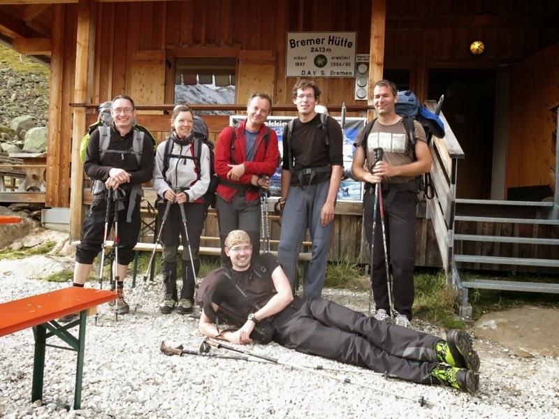 Die sechs von der Bremer Hütte