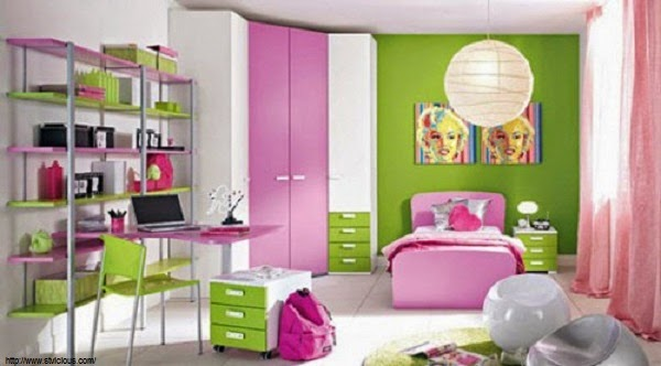 d coration chambre de fille 10 ans. Black Bedroom Furniture Sets. Home Design Ideas