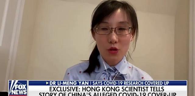 Dr. Li Meng Yan Bongkar Habis Asal Usul Virus Corona, Ternyata dari Laboratorium Militer China