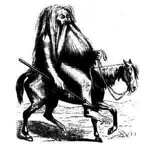 Goetia - Furcas (Illustration)