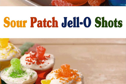 Sour Patch Jell-O Shots