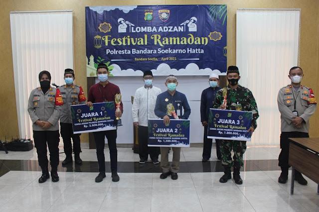 Polresta Bandara Soekarno-Hatta Gelar Lomba Adzan