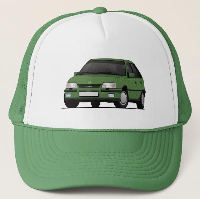 Opel Kadett E GSi 16V - 80's car trucker hat