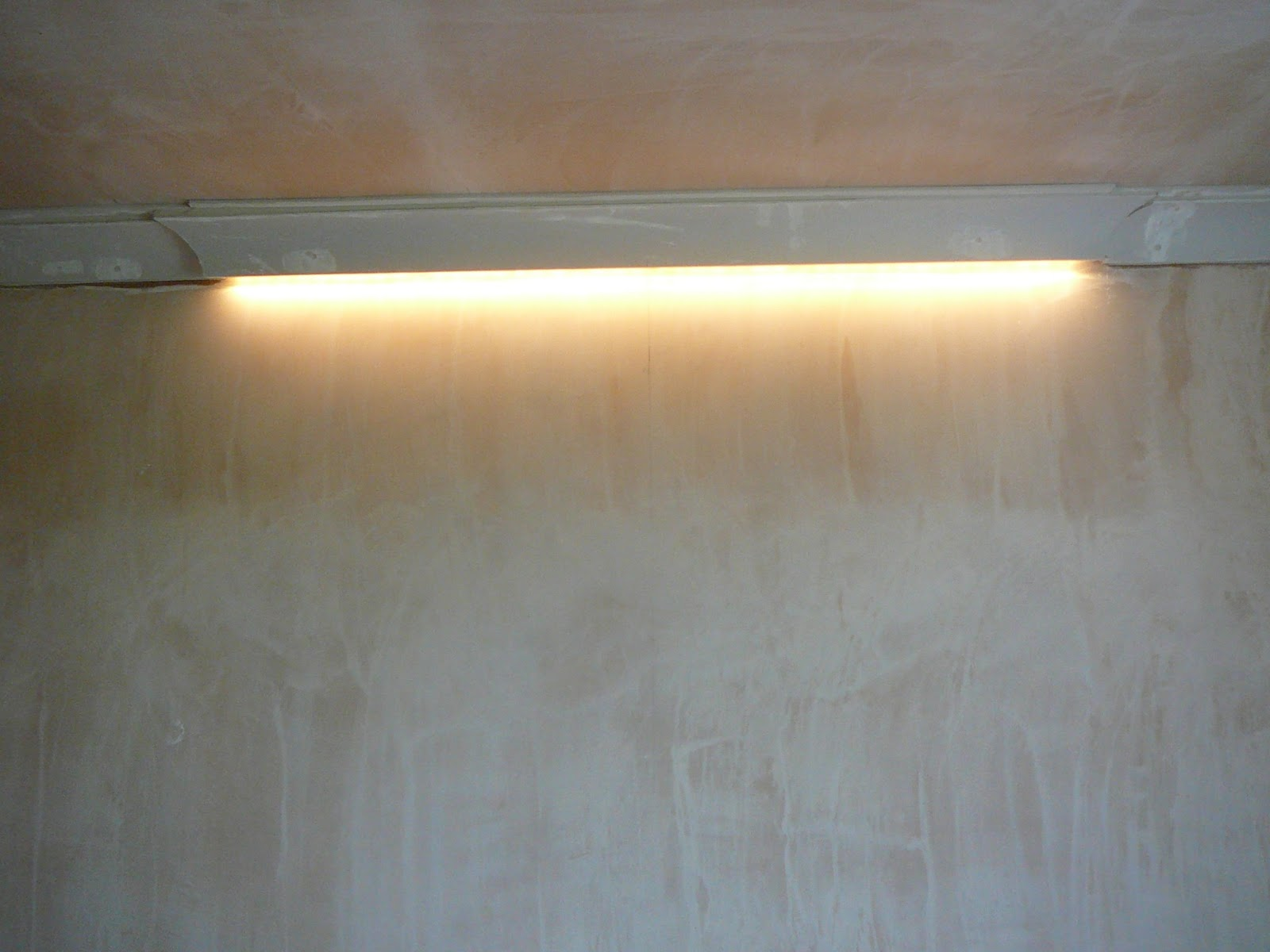 Dae It Yersel Living Room Feature Light Amp Coving