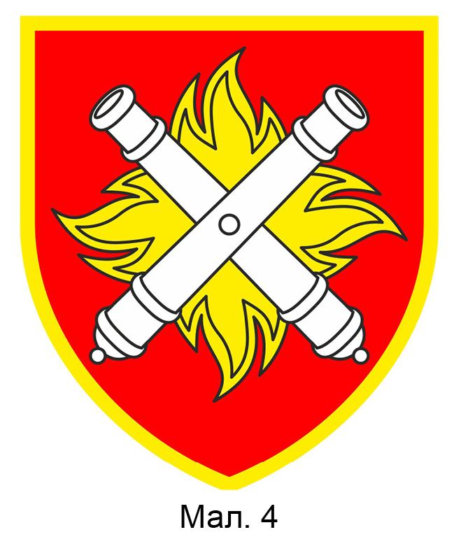 емблема 27-ї реактивної артилерійської бригади