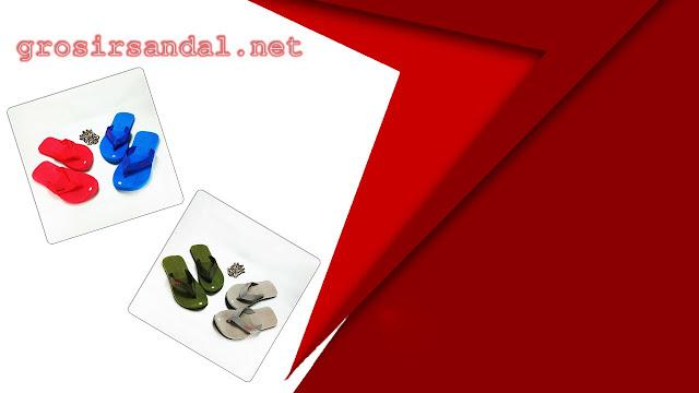 Sandal pria | sandal warna | ukuran 38-42 | grosir sandal murah