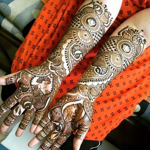 Indian Mehndi Designs For Royal People