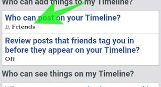 apni facebook timeline me kisi or ko post or tag karne se kese roke 2