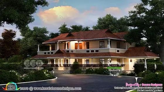 Beautiful Traditional Kerala home design