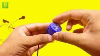 Cara Membuat Headset Organizer dari Tutup Botol