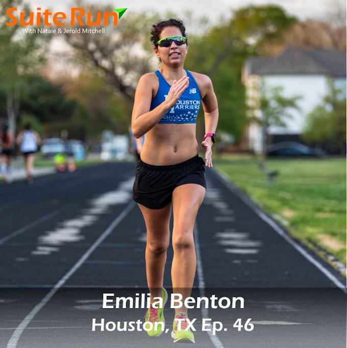 46 | Houston, TX with Emilia Benton: Running in Space City
