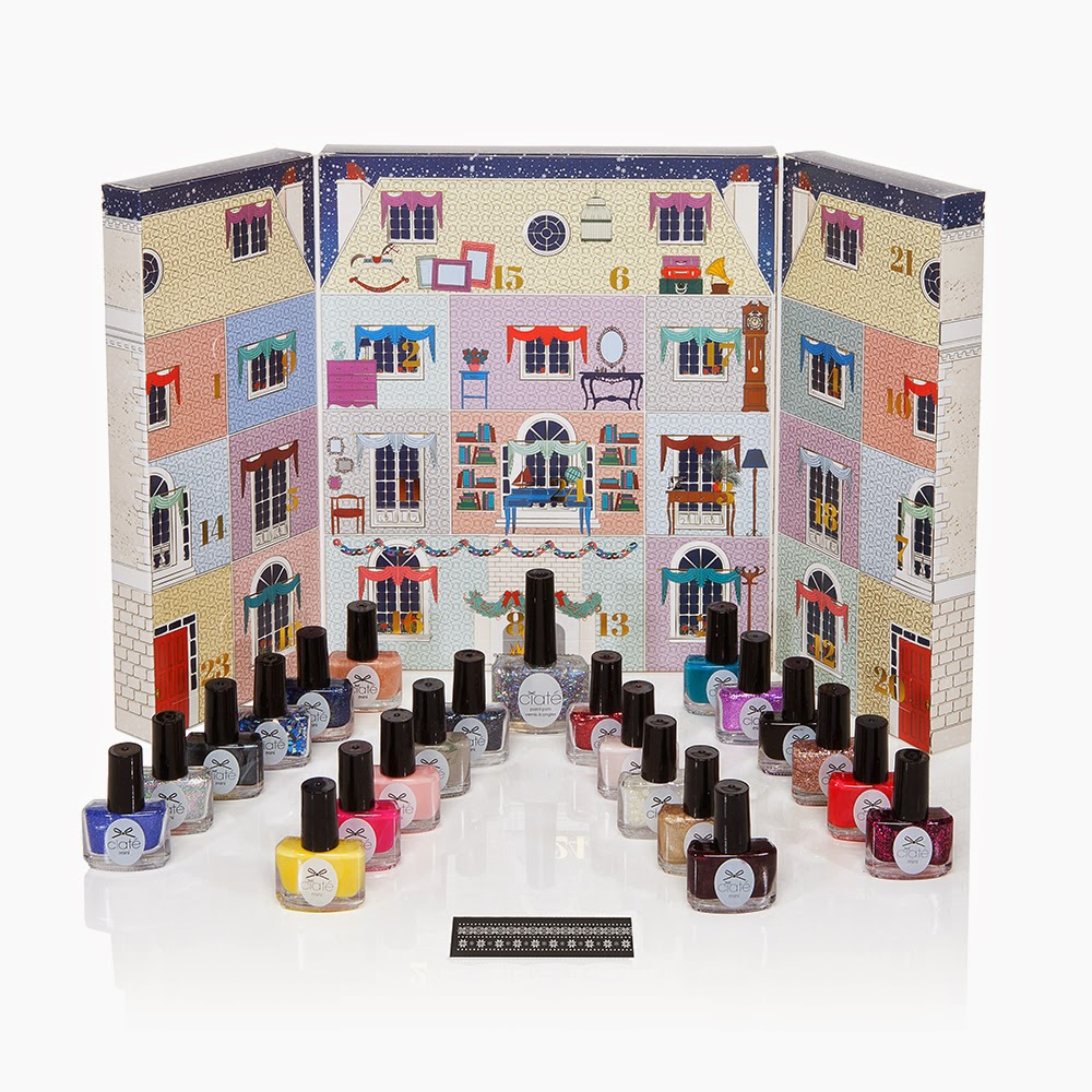 Ciate London Mini Mani Manor Nail Polish Advent Calendar