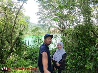 Swafoto Di Tasik Hijau Bukit Ibam