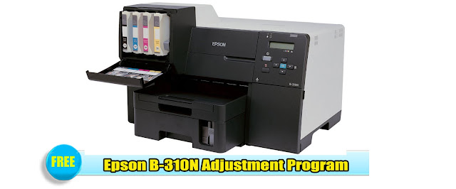 Epson B-310N Adjustment Program