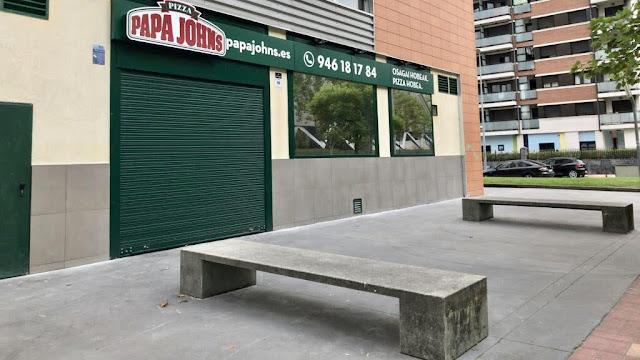 Pizzería en la zona de Ansio clausurada por ruidos