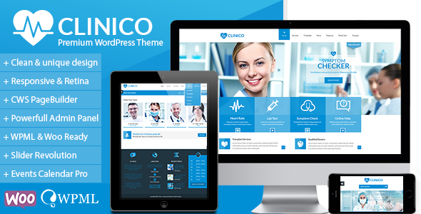 Best Premium Medical WordPress Theme