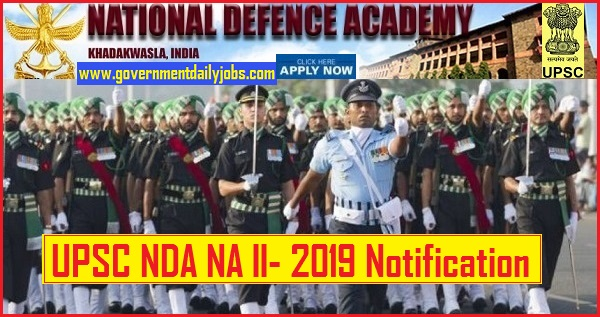 UPSC NDA Recruitment 2019: Apply Online for UPSC NDA Notification for 417 Posts