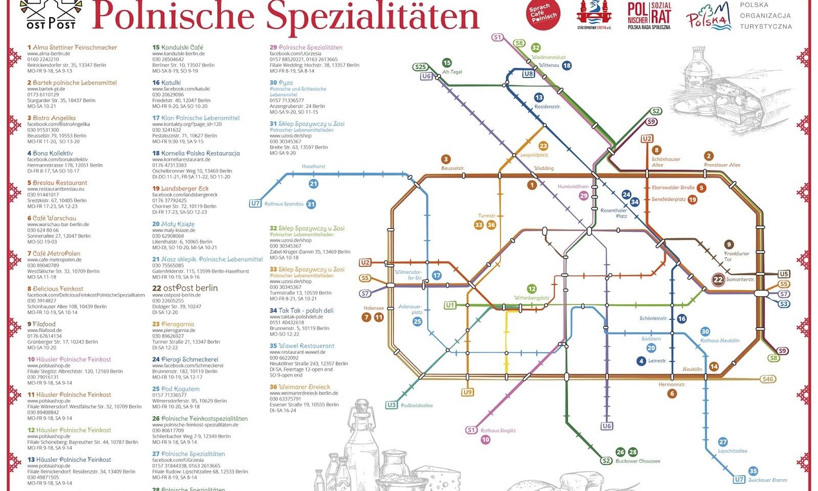 Polski Berlin: polskie sklepy, lokale i inne miejsca w Berlinie