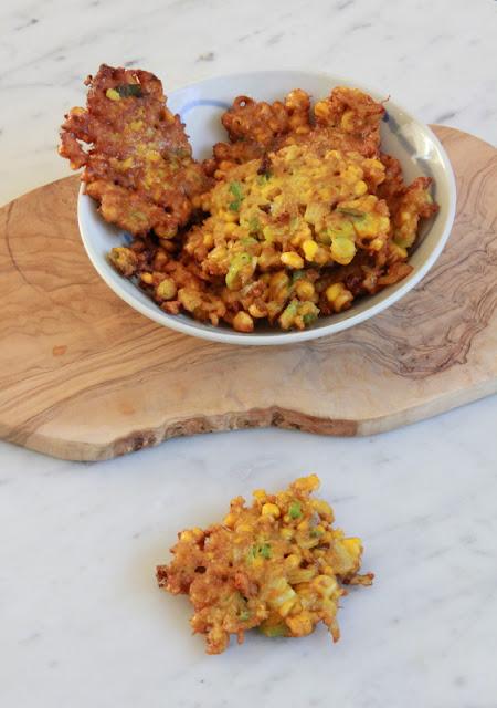 Indische maiskoekjes - www.desmaakvancecile.com