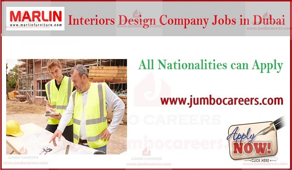 Latest Walk In Interview for Interior Design company jobs in Dubai, UAE latest jobs and careers,