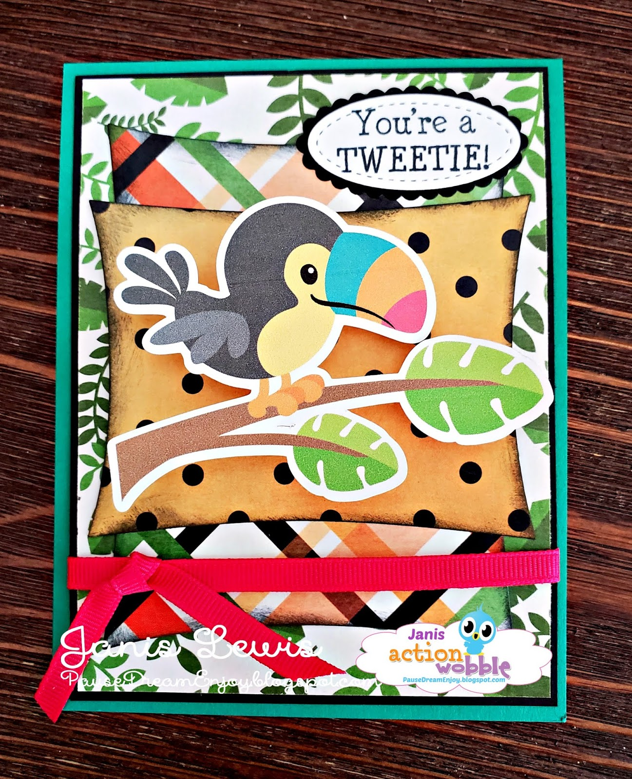picture about Printable Cuttable Creatables named Pause Desire Delight in: Youre a TWEETIE