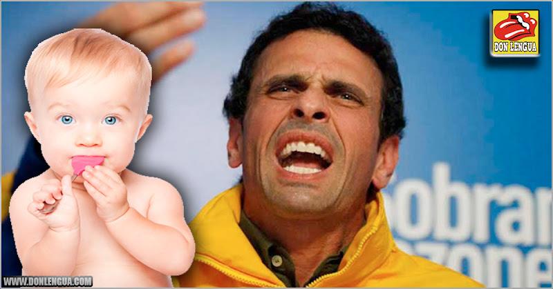 Capriles pide evitar a la gente tóxica que lo critica por tener un bebé con una desconocida